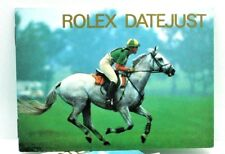 Instruction Manual Book Rolex Datejust Booklet Owners