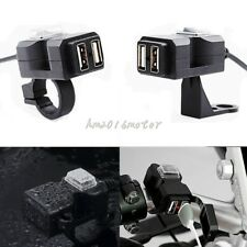 Dual Ports USB Charger Outlet For Harley XL 883 Hugger Sportster Iron Roadster