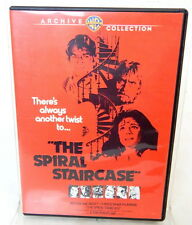 2H DVD THE SPIRAL STAIRCASE WB Archive Collection Jacqueline Bisset Horror