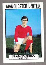 A&BC Scottish Footballers 1971 - Series 1 - Francis Burns - Manchester Utd -# 51