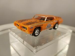 The Judge 1969 Pontiac GTO Beswick Model Motoring ho slot car AW Tjet chassis