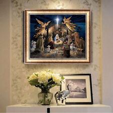 DIY 5D Diamond Painting Angels Embroidery Cross Crafts Stitch Kit Home Art Decor
