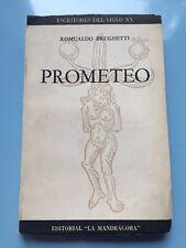 Prometeo El espiritu que no cesa by Romualdo Brughetti. Published By Mandragora