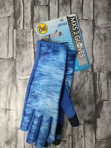 Buff Sport Series MXS 2 Gloves Pelagic XS/S 7/8 15341 New Free Shipping