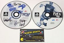 Triple Play 2000 & FIFA 99 - PlayStation 1 Disc Only PS1 Video Games #133