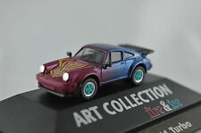 Porsche 911 Turbo Fire & Ice Art Collection Herpa 1:87