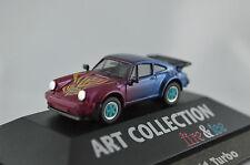 Porsche 911 turbo Fire & Ice Art Collection Herpa 1:87