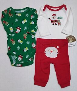 Carter's Christmas Outfit For Boys 6 Months Santa Reindeer