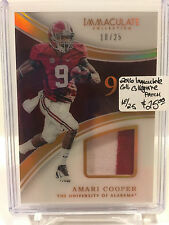 2016 Immaculate Collection #4 Amari Copper PATCH 18/25 University of Alabama