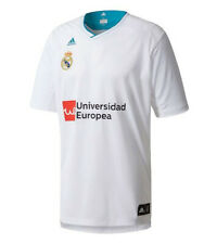 Brand New ADIDAS Men's REAL MADRID 2017/18 Training Basketball SHIRT Jersey