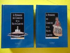Le Patrimoine des Communes de la Haute-Garonne Editions Flohic 2000 2 volumes