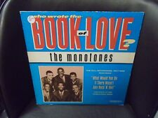 The Monotones Who Wrote the Book of Love LP Murray Hill VG+