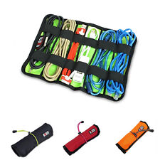 New BUBM Cable Lines Tools Roll Up Bag Multifunction Portable Storage Bag Large