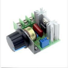 2000w 220v SCR Regolatore di tensione elettrica Motor Speed Control Controller UK