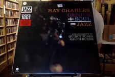 Ray Charles Genius + Soul = Jazz LP sealed 180 gm vinyl RE reissue WaxTime