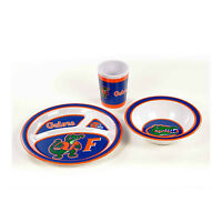 Florida Gators Official NCAA  3-Piece Children's Dish Set Kids Player College