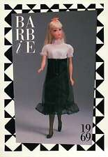 "Barbie Collectible Fashion Card "" Midi-Magic "" Skirt, Stockings, Shoes 1969"