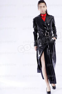 100% Latex Rubber Coat 0,8mm /regen mantel/Rain/dress/