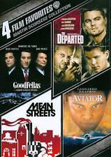 4 FILM FAVORITES MARTIN SCORSESE COLLECTION (DVD, 2012, 4-Disc Set) NEW