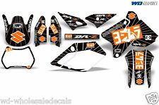 Decal Graphic Kit Suzuki DRZ400 DRZ 400 SM 400sm Backgrounds Y Exhaust Orng/Blk