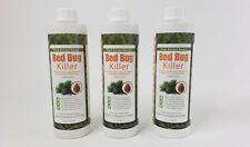 Ecoraider Bed Bug Killer Natural Non Toxic Bug Pest Control 16 oz 3 Bottle Lot