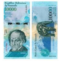 Pick 98 Venezuela 10000 Bolivares 2016  Unc. / 298011vvv