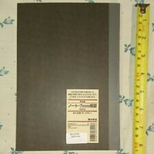 Original Dark Chocolate Brown Muji Notebook from Japan for PHP 175