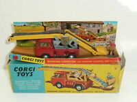 Vintage BOXED Corgi 64 Working Conveyor Control Jeep FC150 1965 - 1969