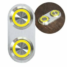 Daytona Billet Switch w/ YELLOW LED Light - Single Switch Door Lock Power Window
