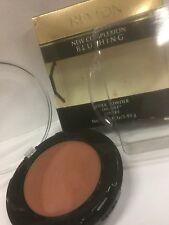 Revlon New Complexion Blushing Cheek Powder Oil-Free ( COFFEE ) NEW -FULL SIZE