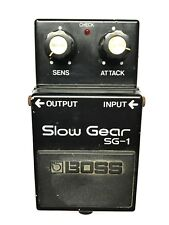 Boss SG-1, Slow Gear, Made In Japan, 1981, Vintage Guitar Effect Pedal