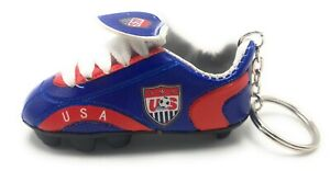 Country Flag Soccer Cleat Keychains New