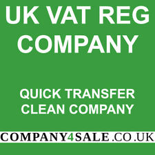 Vat Registered limited company for sale 2020 business companies code 6192SH