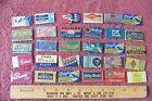 Lot of 30 Razor Blades Vintage Gillette Stark Hudson Romi Valmar Wright Juwel ++