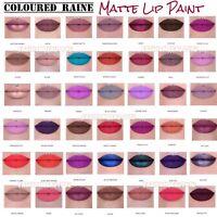 Coloured Raine LIP PAINT Liquid Lipstick FULL SZ All Shades BNIB ☆ Choose Color
