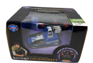 Micro Hovercraft Infrared Remote Control 2010 New In Box Blue Hat Toy Company