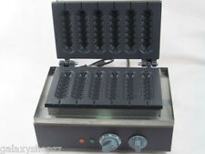 Commercial Electric Muffin French Hot Dog Making Machinewaffle Machine