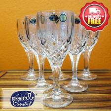 Bohemia Crystal Wine Glass Goblet 6pcs