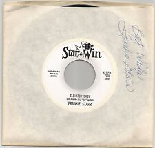 "Arizona Country Boogie by FRANKIE STARR ""Elevator Baby"" Star-Win Autograph HEAR"