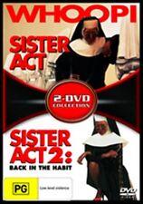 Sister Act 1+2 Back In The Habit Whoopi Goldberg 2DVDR4