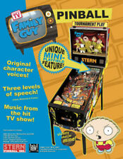 Family Guy Stern Pinball Game Flyer Brochure Ad