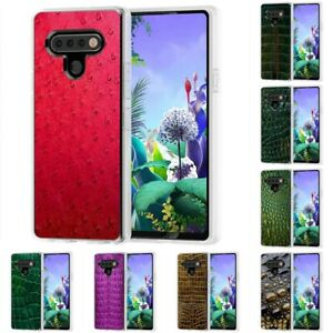 TPU GEL Phone Case Cover for LG K51,K30,Leather Wild Print,Design in USA