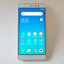 Handy Xiaomi Redmi Note 3 Pro Snapdragon 650 Smartphone weiß-grau