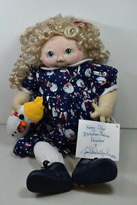 JAN SHACKELFORD SOFT SCULPTURE - BIRTHSTONE BABIES DECEMBER 1996- MINT CONDITION