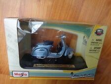 MAISTO BOXED 1/18 VESPA 150 SUPER 1965 SCOOTER SPECIAL EDITION BIKE