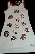 Headgear Streetball Women's Juniors XL White Dress red trim