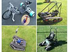 Personal Tracked Vehicle, Drift Trike, Magic Carpet & Mantis QUAD PACK plans