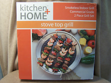 kitchen + Home Smokeless Stove Top Grill - NIB