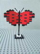 New Custom Sculpture Mosaic Butterfly Bird Built w/ New Lego Bricks Parts