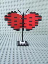 New Custom Sculpture Mosaic Butterfly Bird Built w/ New Lego Bricks Parts